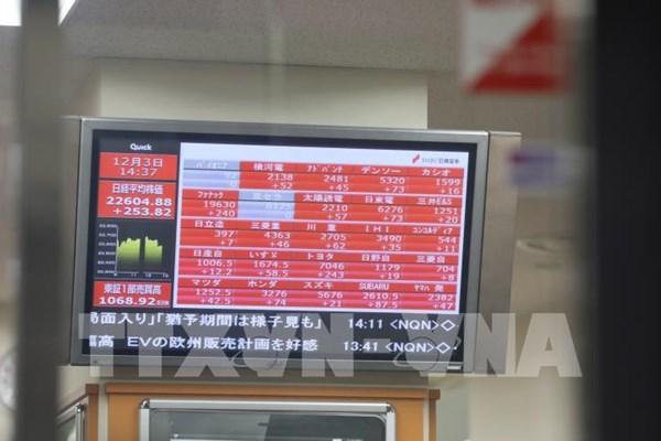 Sở Giao dịch Chứng khoán Tokyo phải tạm ngừng giao dịch vì lỗi hệ thống