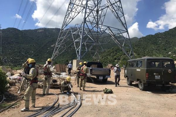EVN hỗ trợ Trungnam Group đóng điện thành công TBA 500/220 kV và đường dây đấu nối