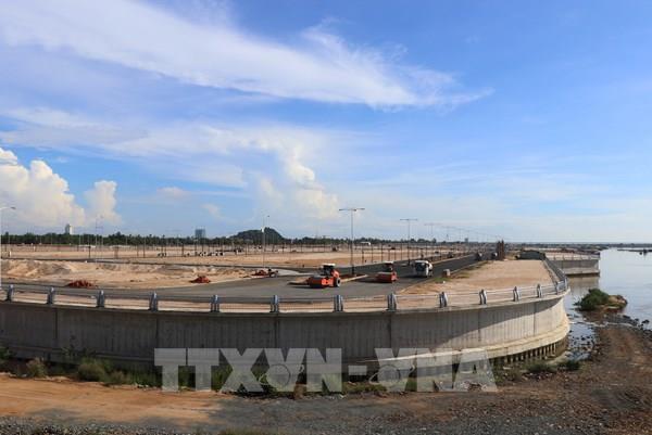Phú Yên khánh thành dự án kè chống sạt lở bờ tả sông Ba