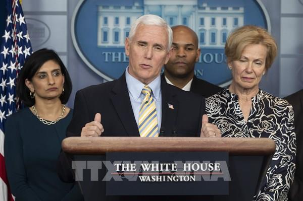 Phó Tổng thống Mỹ Mike Pence và Phu nhân âm tính với virus SARS-CoV-2