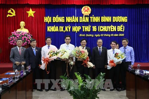 Bầu bổ sung chức danh Chủ tịch, Phó Chủ tịch UBND tỉnh Bình Dương nhiệm kỳ 2016 - 2021