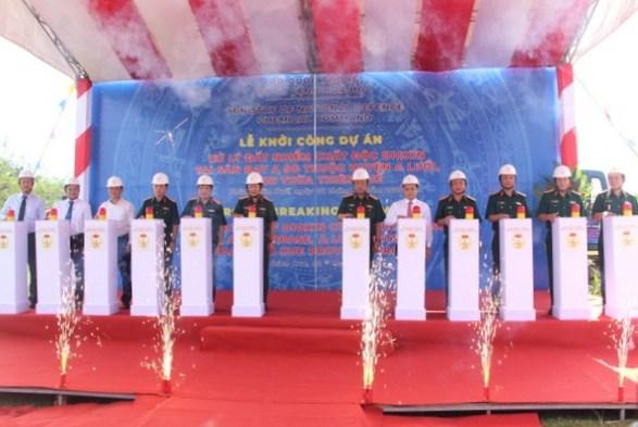 Thừa Thiên – Huế: Khởi công Dự án Xử lý đất nhiễm độc dioxin tại Sân bay A So
