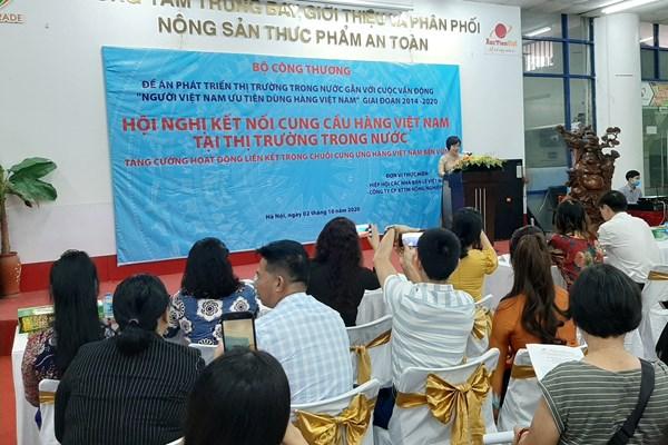 Kết nối cung cầu hàng Việt Nam tại thị trường trong nước