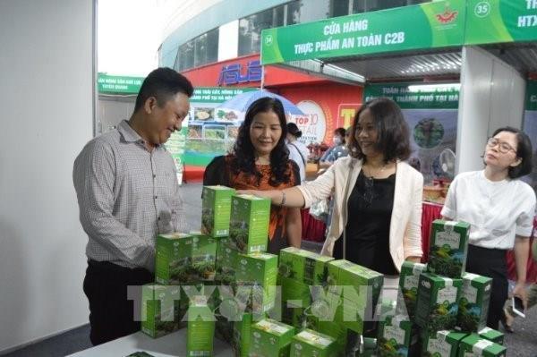 """Khai mạc """"Tuần hàng trái cây, nông sản các tỉnh, thành phố tại Hà Nội năm 2020"""""""