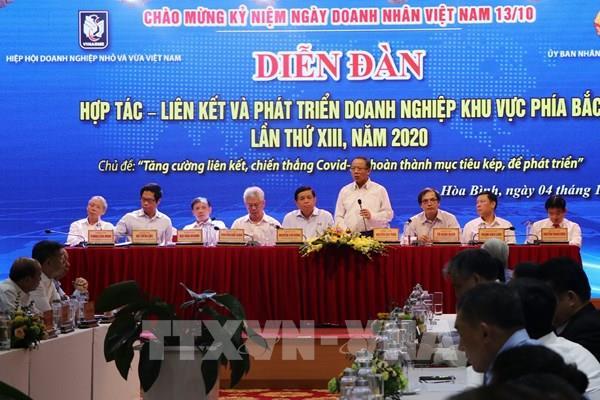 Diễn đàn Hợp tác - Liên kết và phát triển doanh nghiệp khu vực phía Bắc
