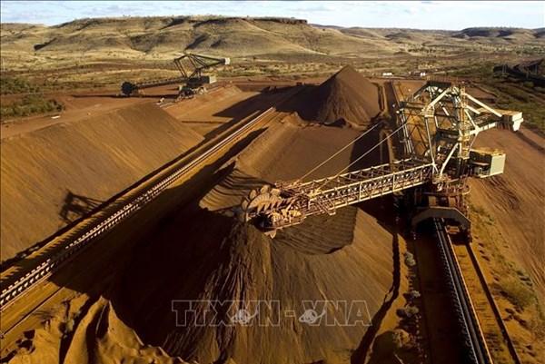Sản lượng quặng sắt của BHP đạt kỷ lục