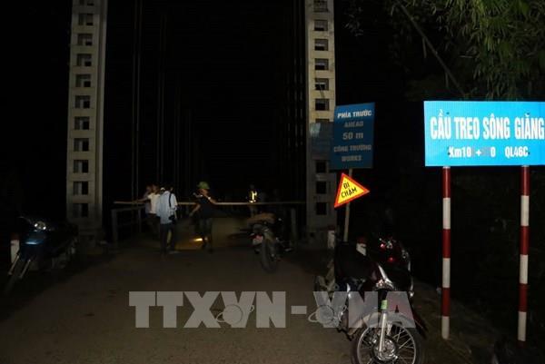 Phó Thủ tướng yêu cầu khảo sát hiện trường vụ tai nạn tại cầu sông Giăng