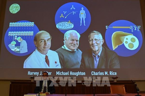 Giải Nobel Y học 2020 được trao cho 3 nhà khoa học có phát hiện mới về virus viêm gan C