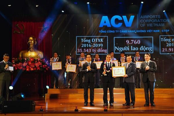 ACV được tôn vinh Người nộp thuế tiêu biểu năm 2020