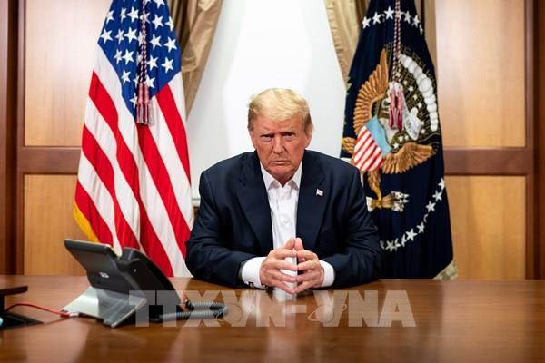 Tổng thống Mỹ xuất viện, trở lại Nhà Trắng