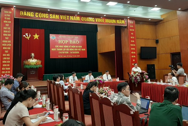 Nhiều sự kiện, hoạt động kỷ niệm 90 năm thành lập Hội Nông dân Việt Nam