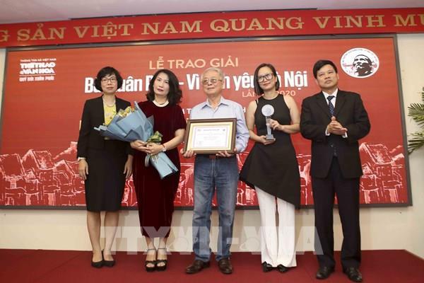 Giải Bùi Xuân Phái – Vì tình yêu Hà Nội: Vinh danh Nhạc sỹ Phú Quang ở Giải thưởng lớn