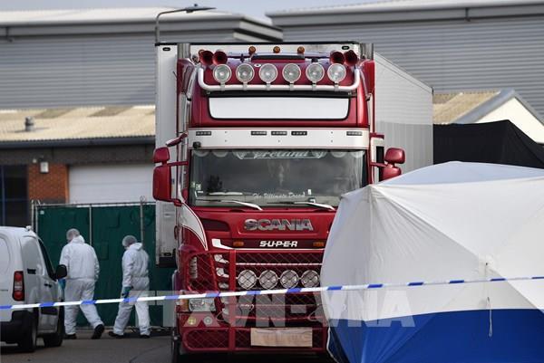 Vụ 39 thi thể trong xe tải ở Anh: Phát hiện tình tiết mới