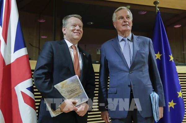 Anh và EU hy vọng đạt thỏa thuận thương mại hậu Brexit vào cuối tháng