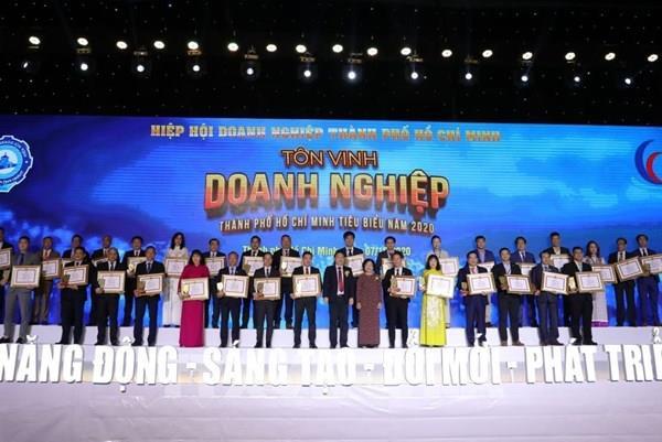 Tp. Hồ Chí Minh tôn vinh Doanh nghiệp, Doanh nhân tiêu biểu năm 2020