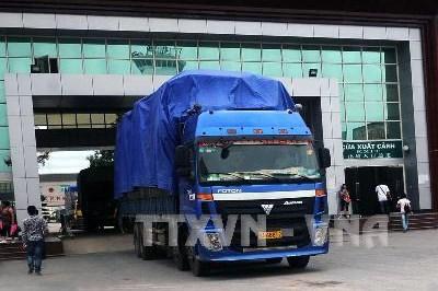 Sắp thông quan trở lại cửa khẩu Ka Long