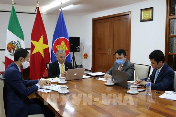 Việt Nam và Mexico tăng cường xúc tiến thương mại trong khuôn khổ CPTPP