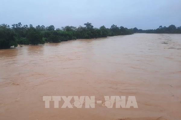 Đã có 1 người chết, 6 người mất tích do mưa lũ ở Quảng Trị