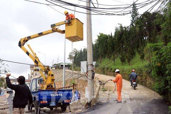 Đà Lạt hoàn thành ngầm hóa và tăng công suất lưới điện thành phố