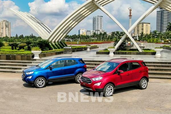 Ford Việt Nam ra mắt Ford EcoSport phiên bản 2020 với giá bán từ 603 triệu đồng