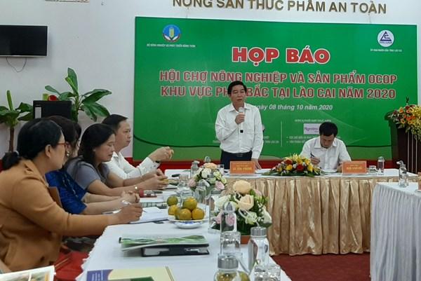Hội chợ Nông nghiệp và sản phẩm OCOP khu vực phía Bắc sắp diễn ra tại Lào Cai