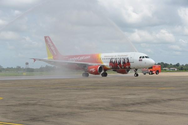 Vietjet Air khai trương đường bay Bangkok– Ubon Ratchathani