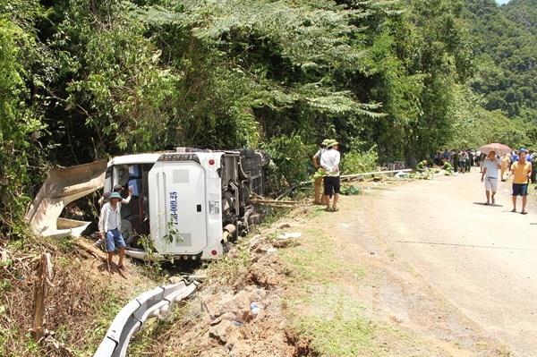 Khởi tố chủ phương tiện vụ tai nạn giao thông làm 15 người chết ở Quảng Bình