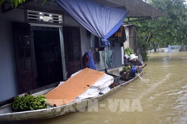 Thừa Thiên - Huế: 1 người chết, 4 người bị thương do mưa lũ