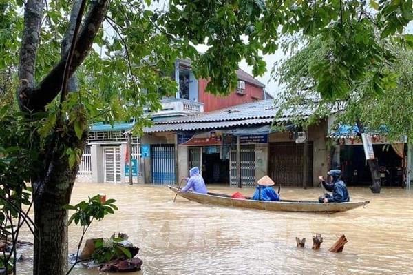 Miền Trung còn khả năng xuất hiện thêm các đợt mưa lũ lớn