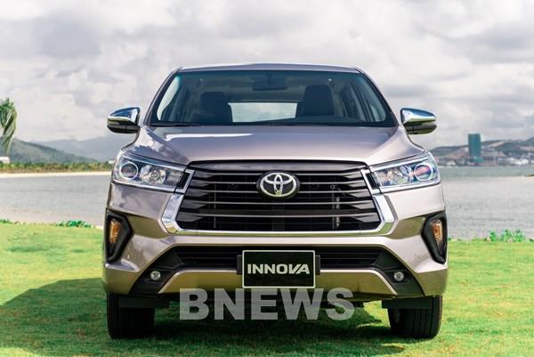 Toyota Innova 2020 ra mắt thị trường Việt bổ sung trang bị, giá tăng