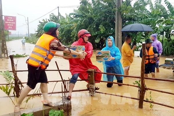 Thực hiện Công điện 1372 của Thủ tướng về ứng phó và khắc phục hậu quả mưa lũ miền Trung