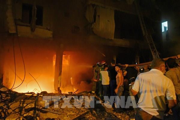 Liban: Cháy nổ bể chứa nhiên liệu tại Beirut gây thương vong