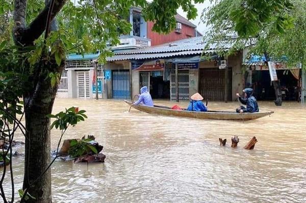 Dự báo thời tiết 3 ngày tới: Ngập lụt sâu từ Quảng Bình đến Quảng Nam tiếp tục kéo dài