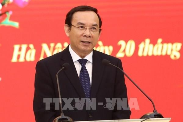 Giới thiệu đồng chí Nguyễn Văn Nên để bầu giữ chức Bí thư Thành ủy Tp. Hồ Chí Minh
