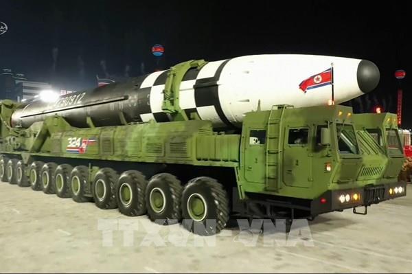"""Mỹ """"thất vọng"""" về việc Triều Tiên trình làng tên lửa đạn đạo mới"""
