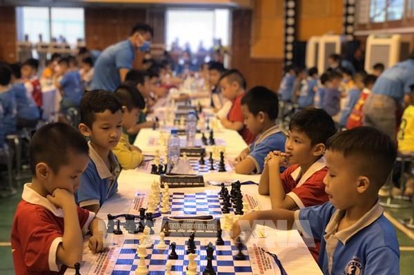 Giải cờ vua các nhóm tuổi thiếu niên, nhi đồng tranh cúp Báo Hải Dương năm 2020