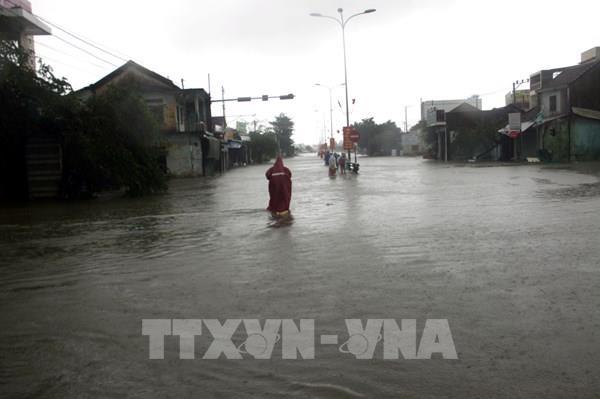 Từ 16-21/10, Trung Bộ có mưa rất to