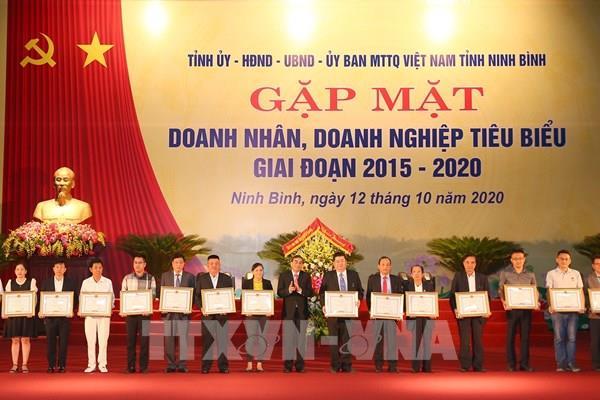 Ninh Bình: Vinh danh doanh nghiệp, doanh nhân tiêu biểu