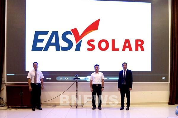 Ra mắt Easy Solar – EVNFinance đặt mục tiêu phát triển năng lượng xanh