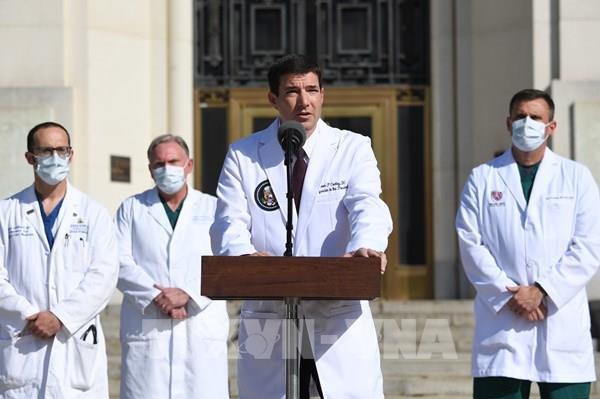 Tổng thống Mỹ có kết quả âm tính với virus SARS-CoV-2 nhiều ngày liên tiếp