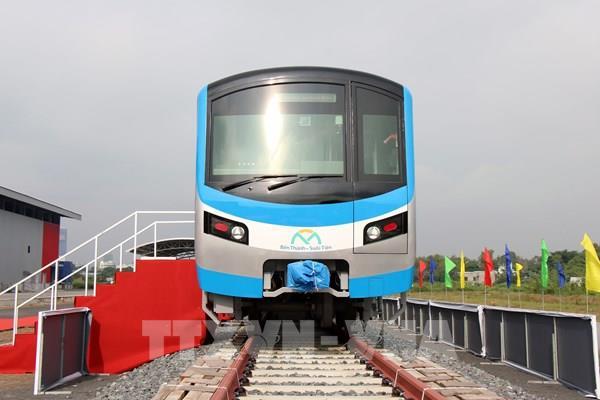 Đón đoàn tàu đầu tiên của dự án metro số 1 Bến Thành - Suối Tiên