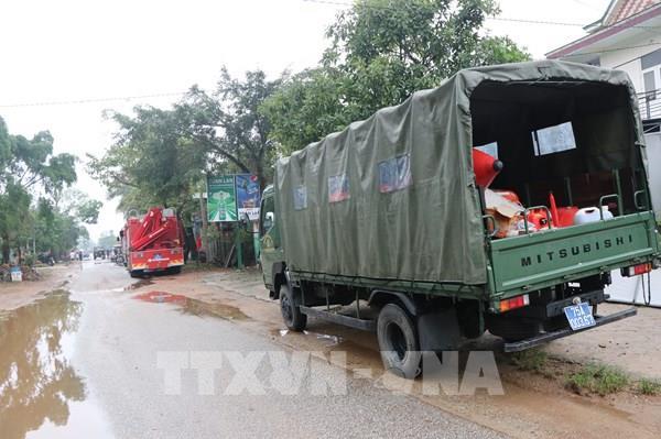 Tiếp cận hiện trường vụ lở đất ở khu vực Nhà máy thủy điện Rào Trăng 3