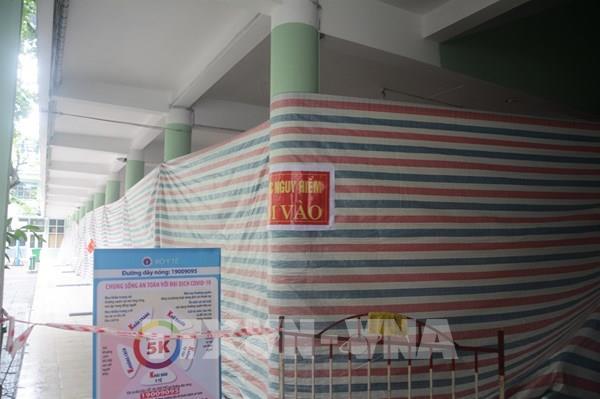 Đà Nẵng: Mưa lớn khiến một trường học phải di dời học sinh