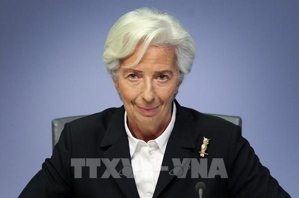 """Chủ tịch ECB hối thúc tăng cường đầu tư vào các dự án """"xanh"""""""