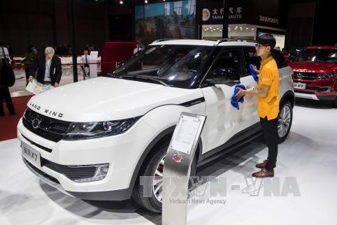 Doanh số bán ô tô tại Trung Quốc tăng tháng thứ 6 liên tiếp