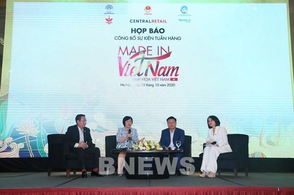 """Sắp diễn ra Tuần hàng """"Made in Vietnam - Tinh hoa Việt Nam """" tại Hà Nội"""
