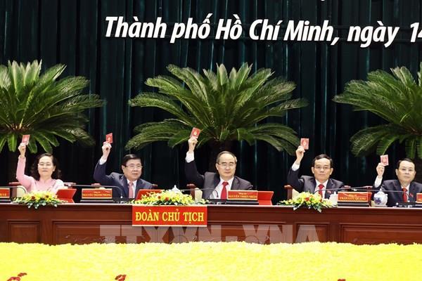 Khai mạc Đại hội đại biểu Đảng bộ Thành phố Hồ Chí Minh Khóa XI