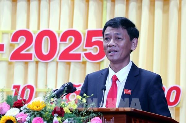Đồng chí Lâm Văn Mẫn được bầu giữ chức Bí thư Tỉnh ủy Sóc Trăng nhiệm kỳ 2020-2025