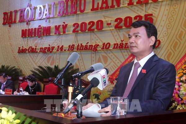 Đồng chí Đặng Xuân Phong được bầu giữ chức Bí thư Tỉnh ủy Lào Cai