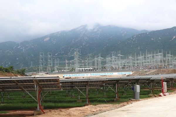 Trung Nam Group khánh thành dự án nhà máy điện mặt trời 12.000 tỷ đồng